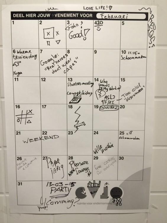 funny toiletpaper calendar