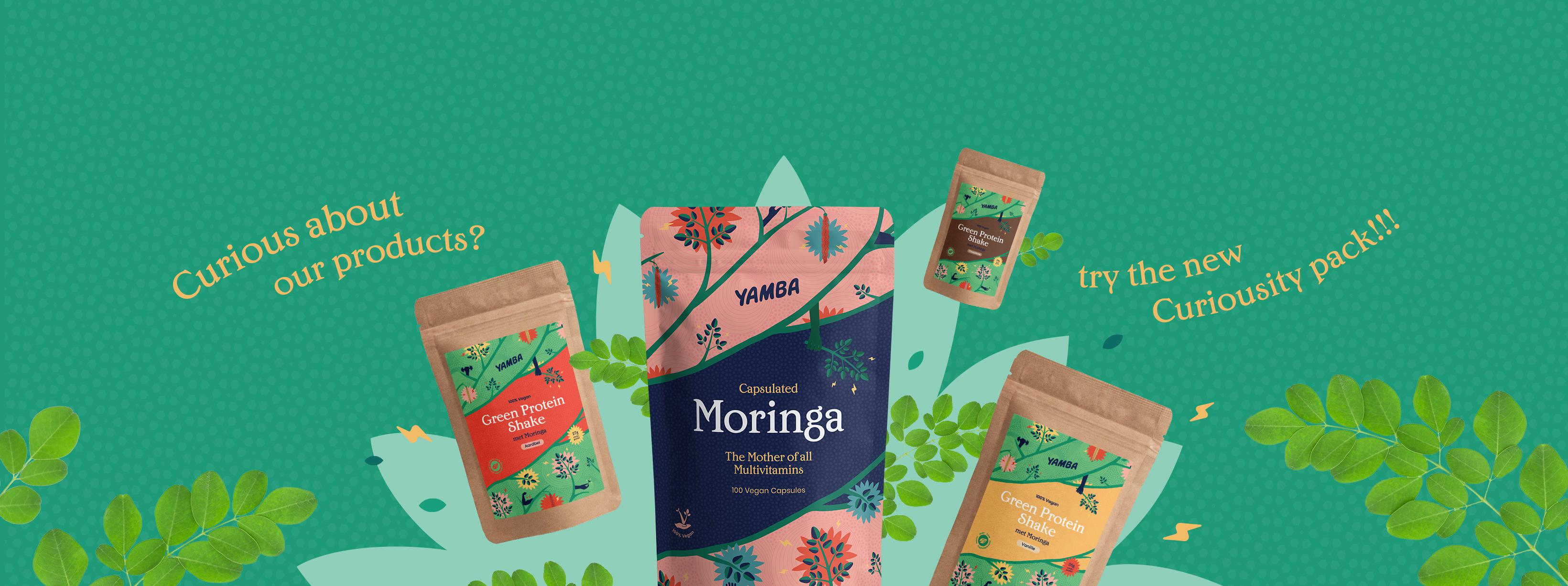 Yamba Moringa Recipes Header