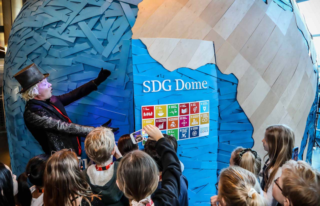 SDG DOME: THE NEXT-GEN LAUNCH  image